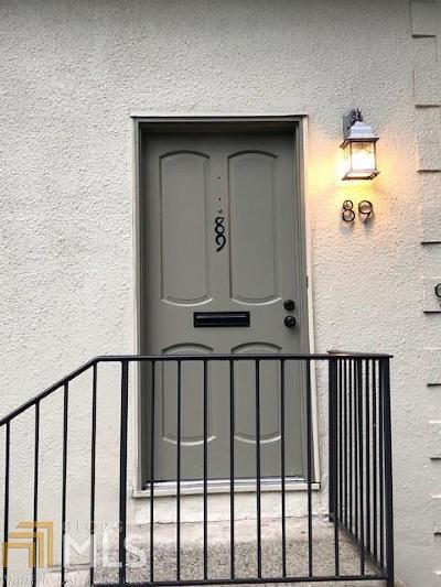 Atlanta Condo/Townhouse New: 89 Chaumont Sq