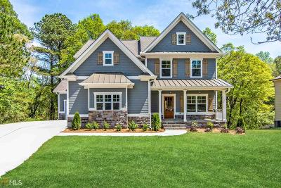 Loganville Single Family Home New: 3322 Oak Grove Rd