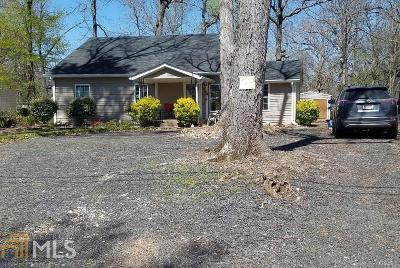 Griffin Single Family Home Under Contract: 121 Pine Ave