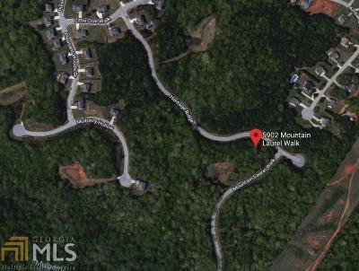 Flowery Branch Residential Lots & Land Under Contract: 5902 Mountain Laurel Walk