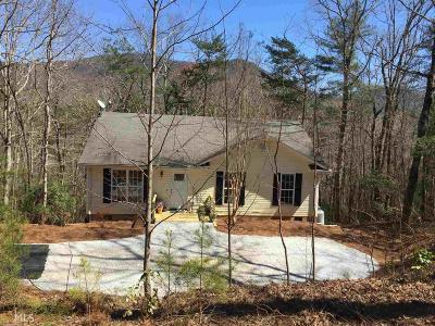 Rabun County Single Family Home New: 341 Bear Foot Trl