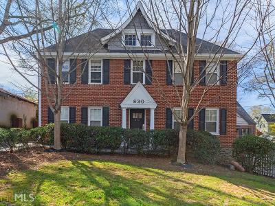 Atlanta Condo/Townhouse New: 830 Barnett St #2