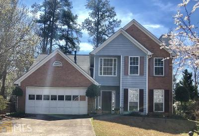 Gwinnett County Single Family Home Under Contract: 3394 Shady Woods Circle