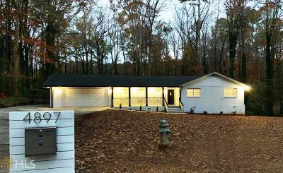 Gwinnett County Single Family Home New: 4897 Rock Heaven Dr SW
