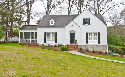 Atlanta Single Family Home New: 3927 N Stratford Rd