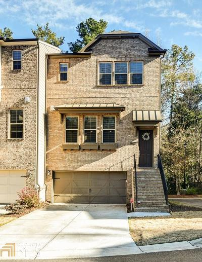 Alpharetta Condo/Townhouse New: 142 Brindle Lane