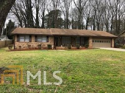 Gwinnett County Single Family Home New: 457 Cole Dr