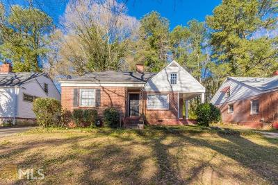 Atlanta Single Family Home New: 1919 S Gordon Street SW