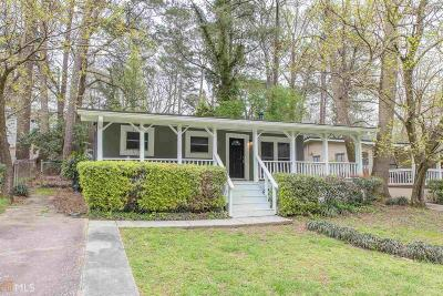 Fulton County Single Family Home New: 2059 Lenox Rd