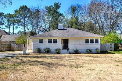 Cartersville Single Family Home Under Contract: 137 Luckie St