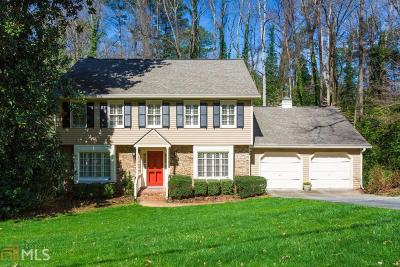 Atlanta Single Family Home New: 4650 Brook Hollow Rd