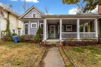 Atlanta Single Family Home New: 363 Woodward Ave