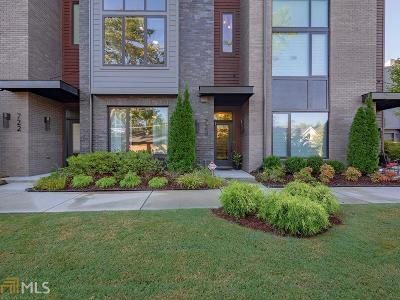 Dekalb County Condo/Townhouse New: 720 Oakview Rd
