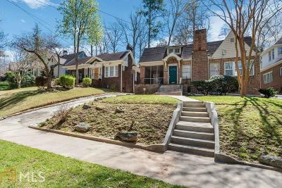 Atlanta Single Family Home New: 773 Brookridge Drive NE