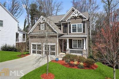 Fulton County Single Family Home New: 2175 Collins Ridge Drive NW