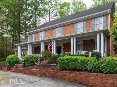 Atlanta Single Family Home New: 9985 Huntcliff Trce