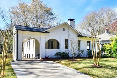 Atlanta Single Family Home New: 917 United Ave