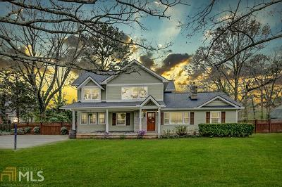 Avondale Estates Single Family Home Under Contract: 3293 Covington