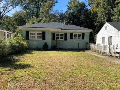 Atlanta Single Family Home New: 1239 Graymont Dr