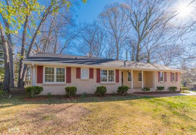 Snellville Single Family Home Under Contract: 1964 McGee Rd