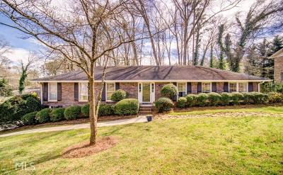 Marietta Single Family Home New: 3380 Camelot Dr