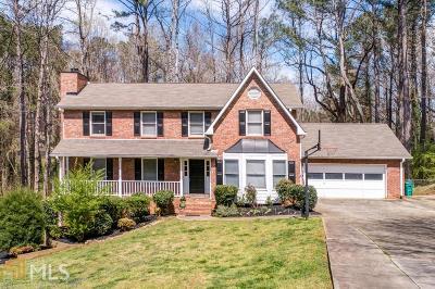 Cobb County Single Family Home New: 3890 W Cooper Lake Drive SE