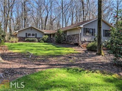 Fulton County Single Family Home New: 670 Pine Grove Road