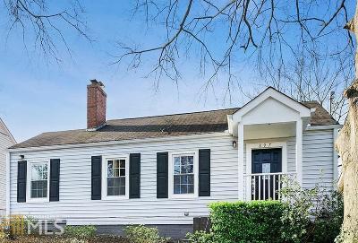 Fulton County Single Family Home New: 897 Emerson Avenue SE