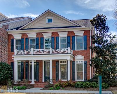 Roswell Condo/Townhouse New: 5811 Fairmont Trce