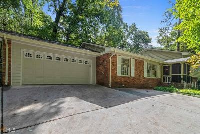 Fulton County Single Family Home New: 5195 Timber Trl S