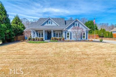Hoschton Single Family Home New: 165 Caldwell Ln