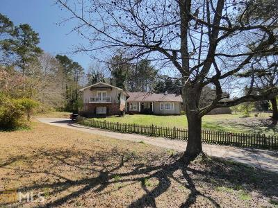 Douglasville Single Family Home Under Contract: 3691 Sullivan Rd