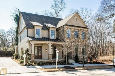 Fulton County Single Family Home Under Contract: 4742 Wieuca Rd
