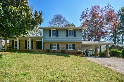 Decatur Single Family Home New: 2146 Chevy Chase