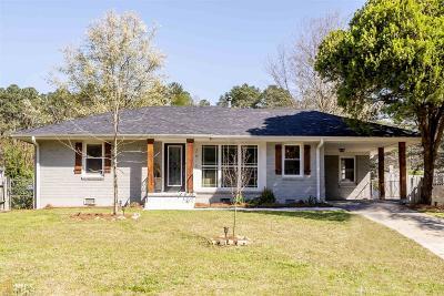 Fulton County Single Family Home New: 2673 Dodson Terrace SW