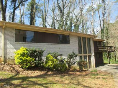 Lilburn Single Family Home Under Contract: 5651 Marian Ln