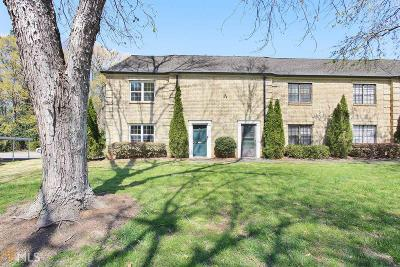 Fulton County Condo/Townhouse New: 390 N River Parkway #A