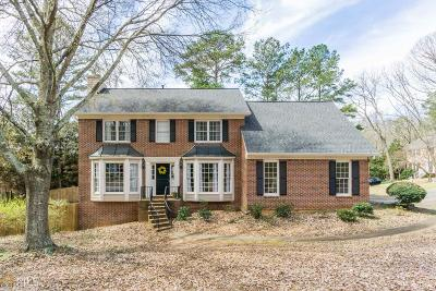 Roswell Single Family Home Under Contract: 145 Spring Ridge Trc