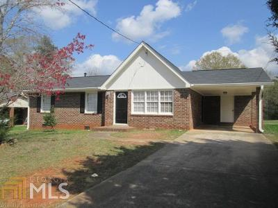 Griffin Single Family Home Under Contract: 131 Amberwood Ln