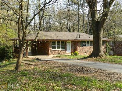 Clarkston Single Family Home Under Contract: 3442 Mell Pl
