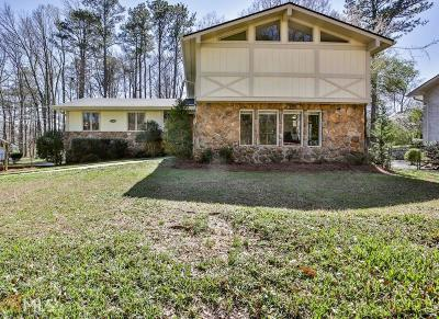 Atlanta Single Family Home New: 3505 Dunwoody Club Dr
