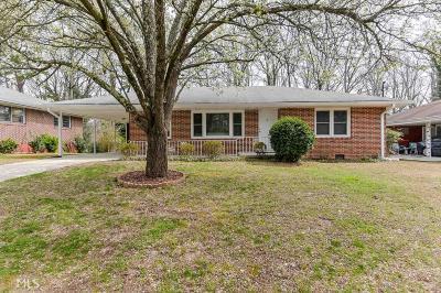 Fulton County Single Family Home New: 2828 S Clark