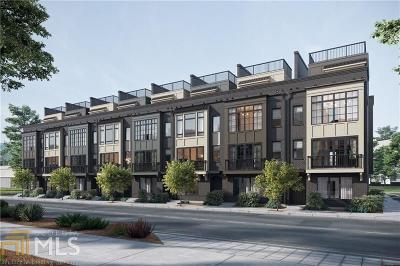 Fulton County Condo/Townhouse New: 49 Krog Street #12