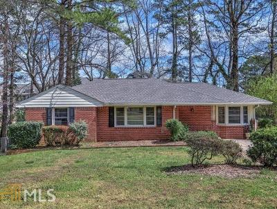 Brookhaven Single Family Home New: 2489 Skyland Trail
