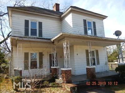 Griffin Single Family Home Under Contract: 846 E Solomon St