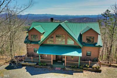 Union County Single Family Home New: 654 Bruce Mountain Road