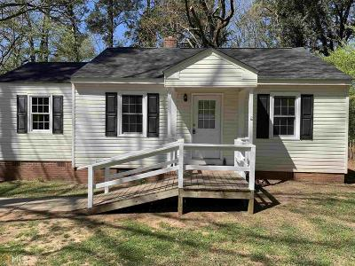 Newnan Single Family Home Under Contract: 75 Bailey Dr