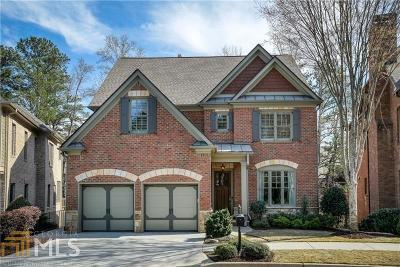 Alpharetta Single Family Home New: 4678 Lakeway Place