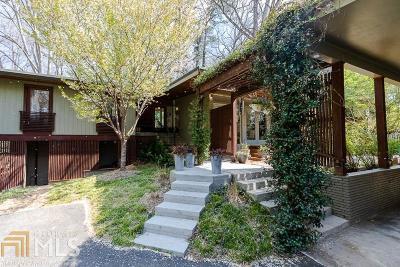 Buckhead Single Family Home New: 1169 Milmar Dr