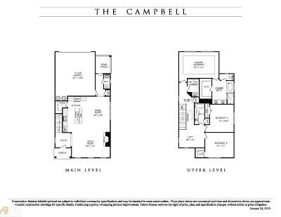 Smyrna Single Family Home New: 2300 Road A #43
